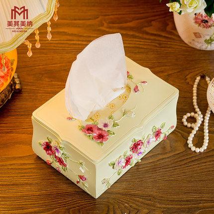紙巾盒(單一價格/三色堇/深玫瑰)