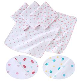 紗布巾口水巾手帕5件1組