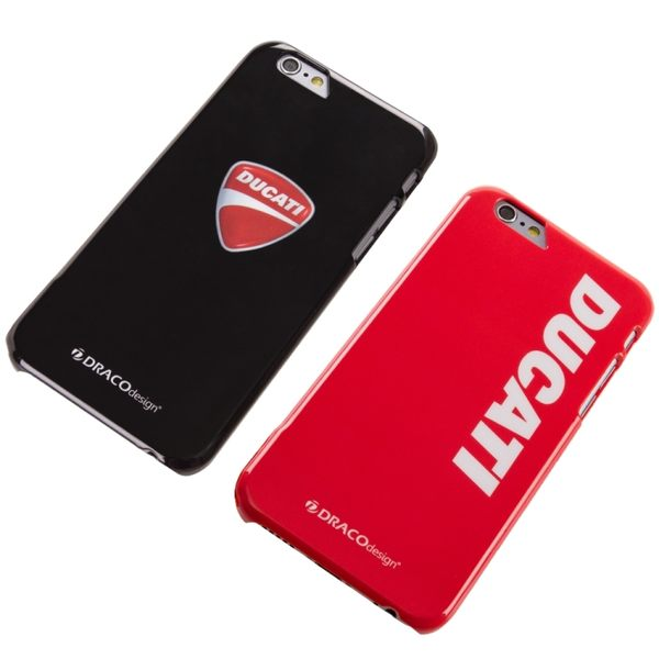 ★送原廠摺疊手機背蓋★DRACOdesign x DUCATI iPhone 6/6s Plus(5.5吋)聯名超薄背蓋保護殼