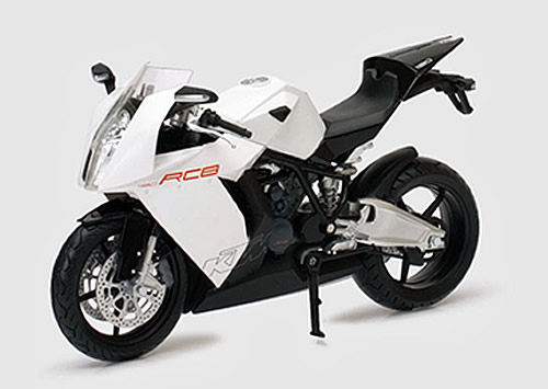 JOYCITY 1:12重型機車模型系列KTM白色