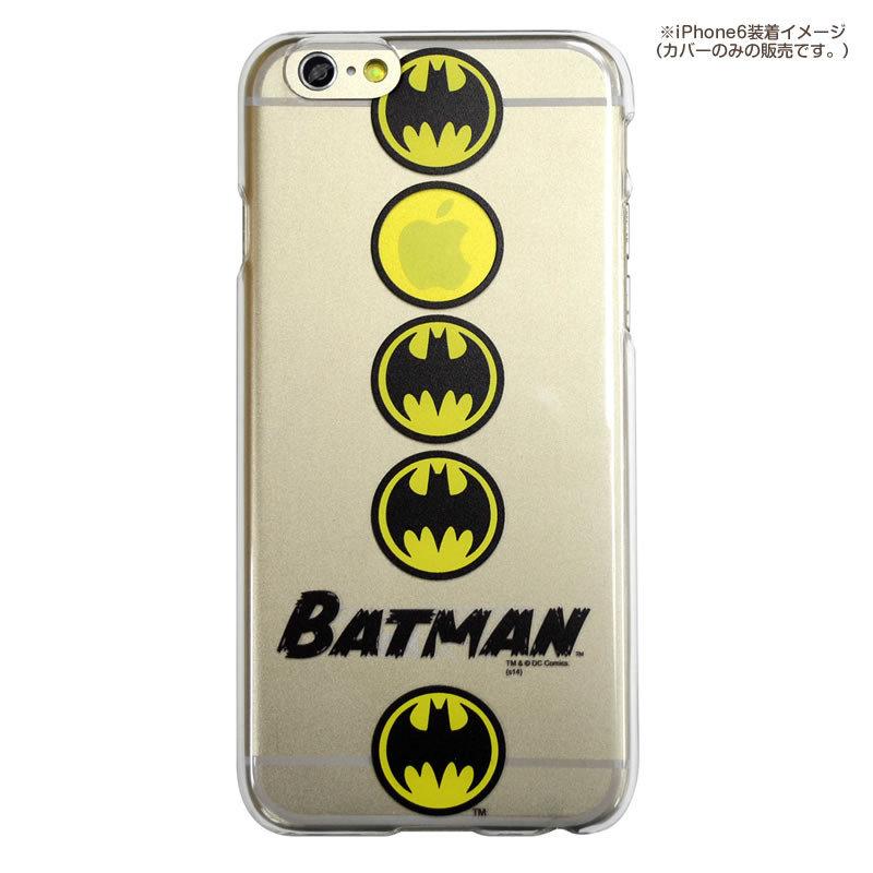 尼德斯Nydus*日本正版DC超級英雄正義聯盟蝙蝠俠透明款4.7吋iPhone 6