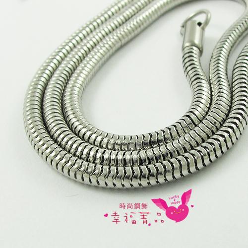 316L白鋼單鍊18吋項鍊款潘朵拉蛇鍊不過敏不生鏽免保養