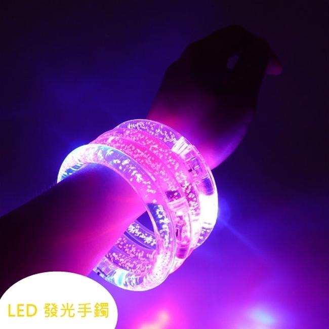 塔克LED手鐲壓克力LED手環LED燈夜光手環運動手環壓克力發光手環