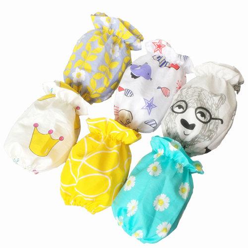 兒童棉質防髒縮口袖套 兒童袖套 防髒袖套 吃飯袖套 遊戲袖套