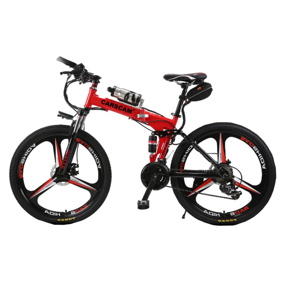 CARSCAM EB1 26吋公路越野36V鋰電折疊自行車