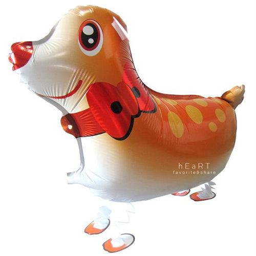 寵物散步鋁箔氣球無充氣生日派對派對佈置生日氣球散步氣球散步動物