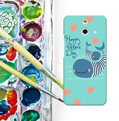 ✿ 3C膜露露 ✿ HTC One E8【Fish*水晶硬殼 】手機殼 保護殼 保護套 手機套