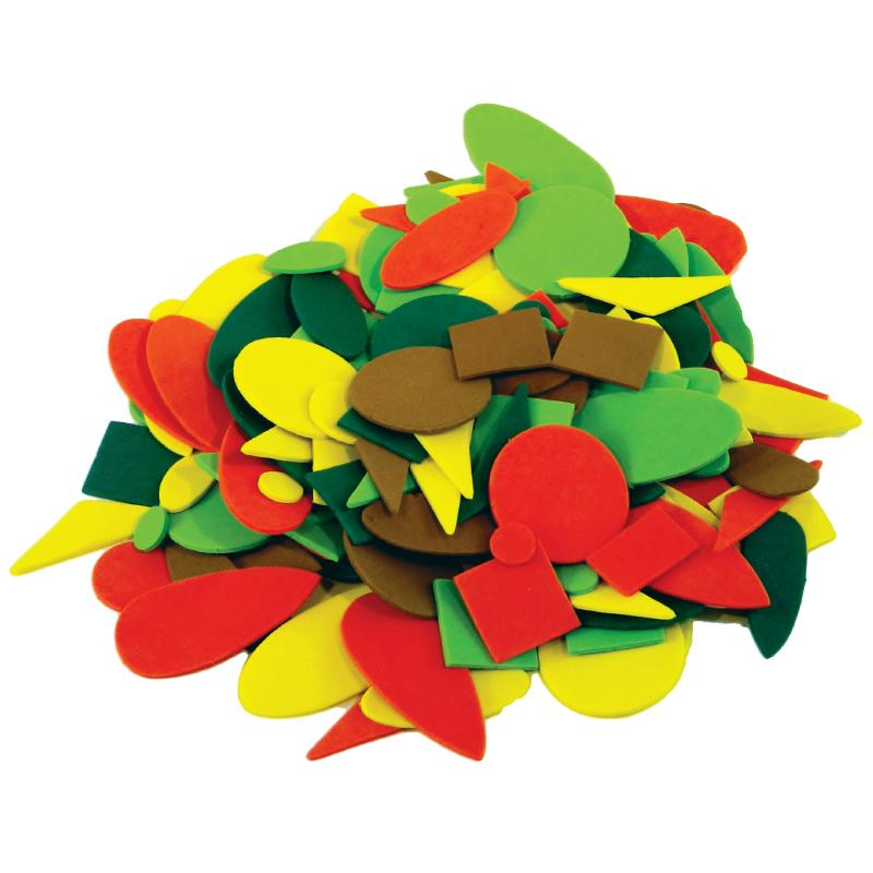 EVA-形狀造型 兒童幼兒教具教學道具彩繪著色畫圖用具親子同樂綜合活動藝術與人文