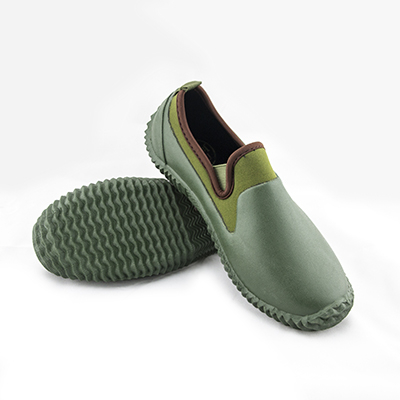 園藝資材園藝鞋 防水鞋 防泥沙 防石礫-法國設計摩荳園藝鞋 草綠色系