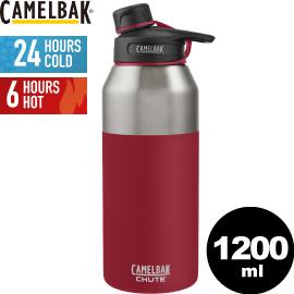 CamelBak美國1200ml戶外運動保冰溫水瓶磚紅保溫瓶保冷水壺水壺水瓶CB53871