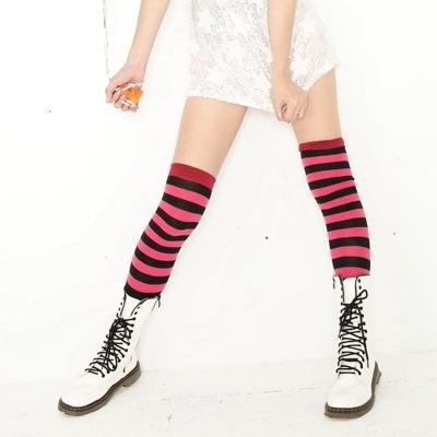 【義大利名牌】Roberta di Camerino 諾貝達, 膝上襪, 彩色斑馬 款 - 普若Pro品牌好襪子專賣館