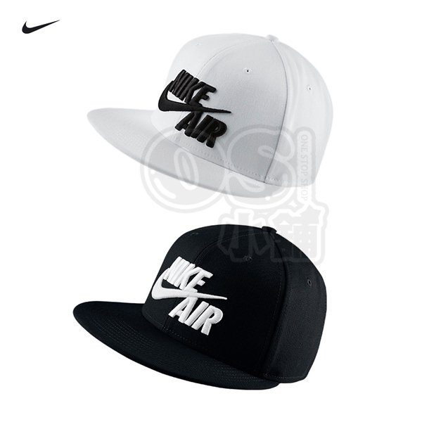 特價NIKE AIR TRUE EOS CAP棒球帽805063-010黑色805063-100白色電繡
