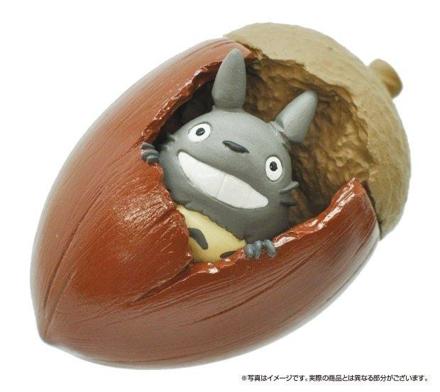 【拼圖總動員 PUZZLE STORY】橡樹果裡的龍貓 日本進口拼圖/Ensky/吉卜力/14P/立體塑膠