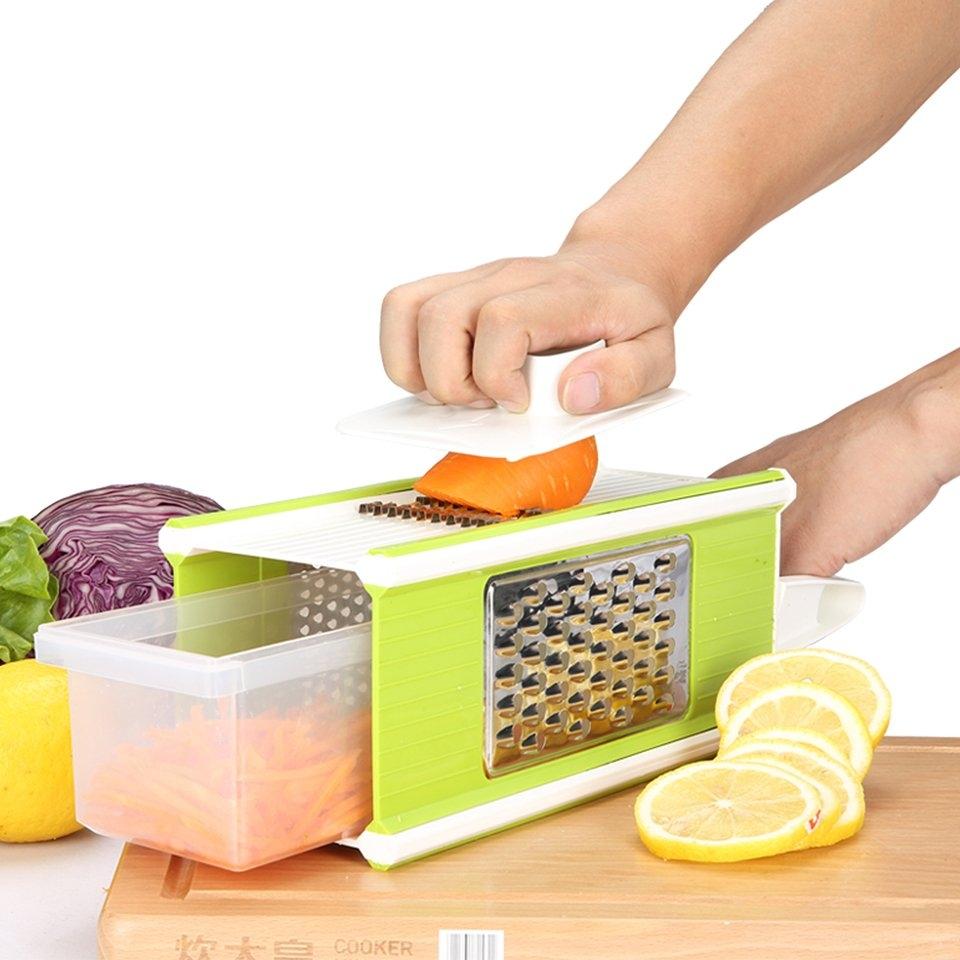 廚房用品切菜神器多功能擦土豆切絲器手動家用黃瓜切片刨絲器