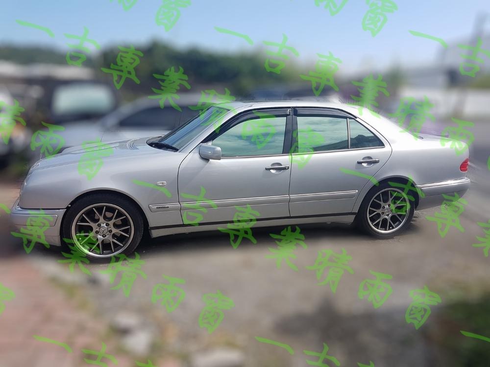 一吉95-02年賓士W210舊E系列外銷日本原廠型晴雨窗W210晴雨窗W210晴雨窗E280晴雨窗