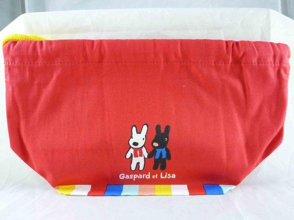 震撼精品百貨Gaspard et Lisa麗莎和卡斯柏~束口袋紅