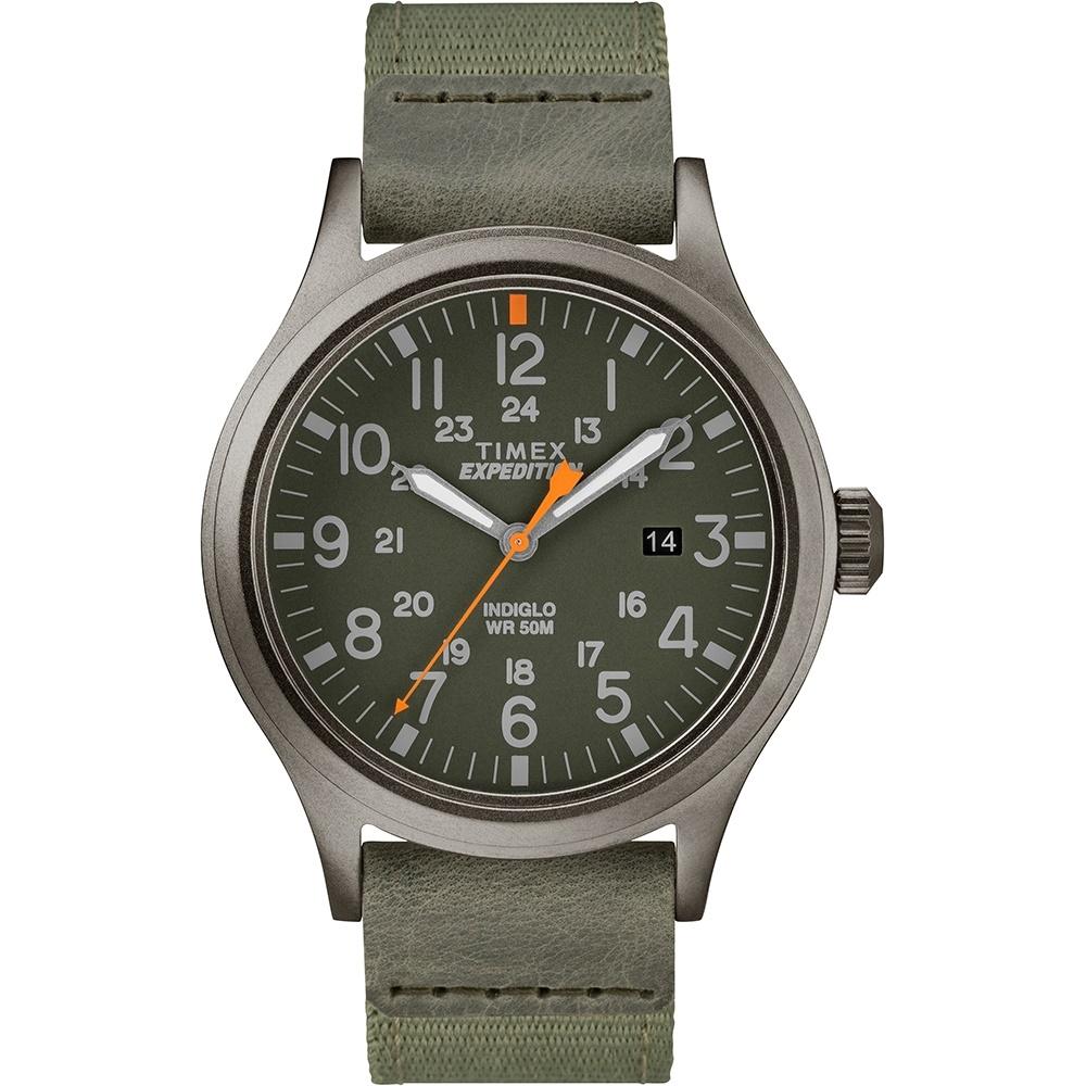 【TIMEX】 天美時 遠征系列 探險手錶 (深灰/綠 TXTW4B14000)