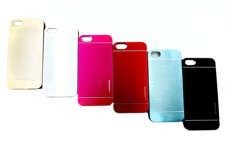 【motomo】iPhone se/5/5S/SE 鋼化金屬拉絲手機殼 超薄 保護殼 後背蓋 Apple 金屬拉絲