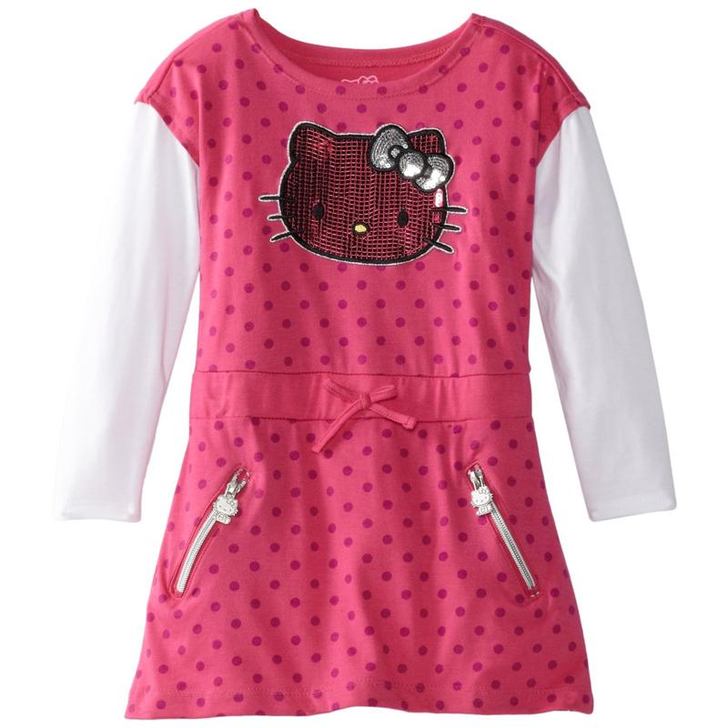 美國凱蒂貓長袖連身裙洋裝: 18912