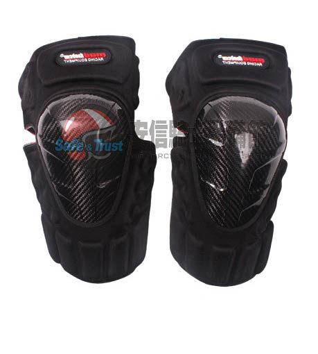 中壢安信基本款碳纖維摩托車護膝護具防摔護具重機護具