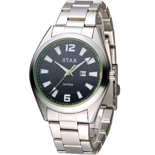 STAR 時代 永恆時光紳士腕錶 9T1602-231S-DG