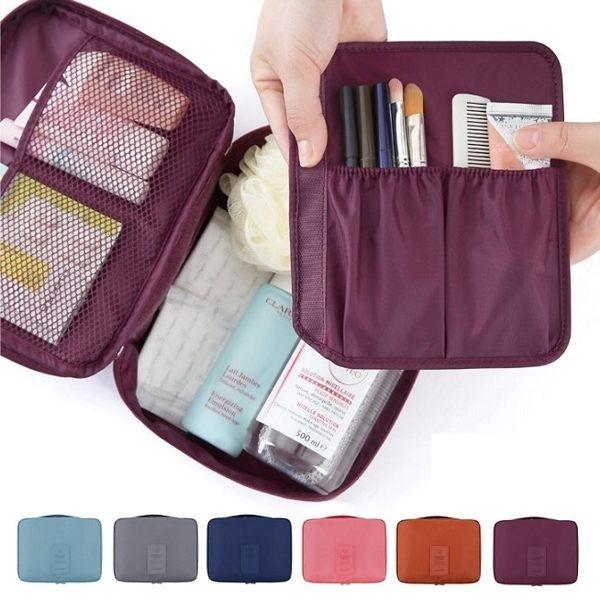 韓國第二代旅行收納包盥洗包小飛機旅遊旅行化妝包旅行組收納袋包中包行李箱RB322