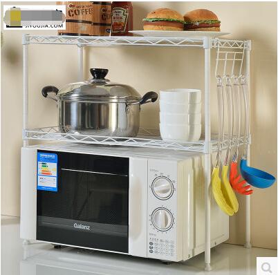 微波爐架烤箱架落地宜家微波爐置物架廚房儲物收納架