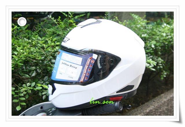 M2R安全帽F5素色白