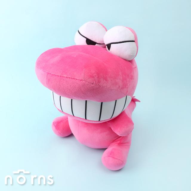 【蠟筆小新玩偶13吋鱷魚】Norns 正版授權 鱷魚阿山 綠色餅乾盒 絨毛娃娃