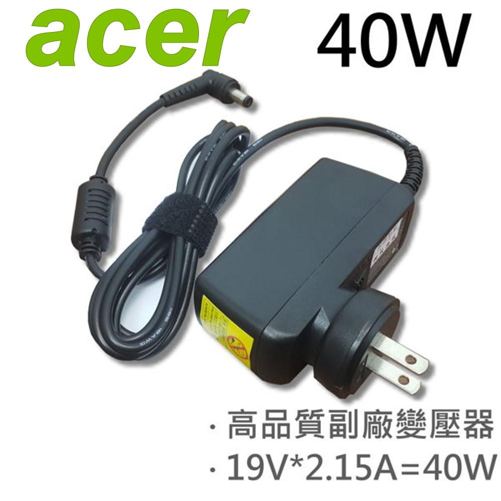 ACER 宏碁 高品質 40W 變壓器 WA-30A19K WA-30B19K Y200J Acer Iconia  W500 W500P Acer eMachines  eMachine 355 eMachine 250