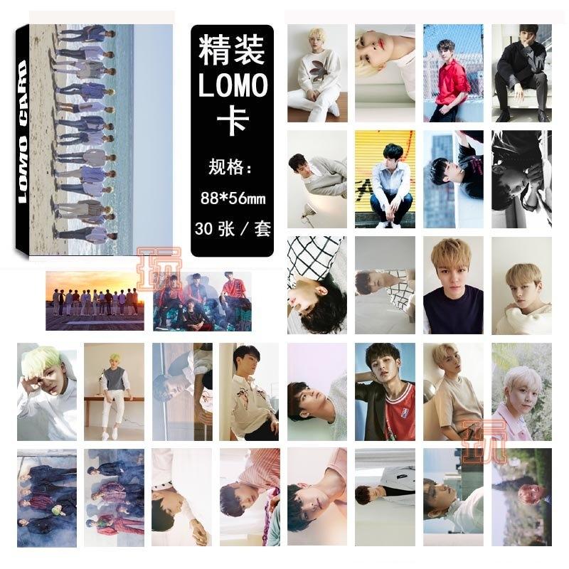 韓國Seventeen  新版 LOMO小卡 照片寫真 圖片小卡組E710-A【玩之內】Don't Wanna Cry