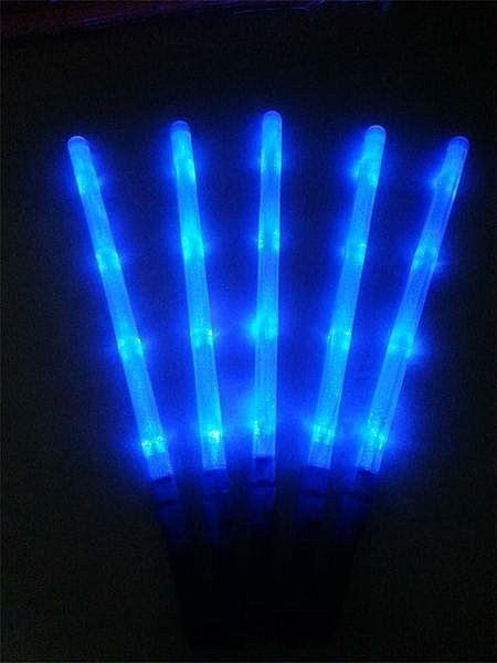 48公分發光螢光棒/支-藍光~~求婚 派對 跨年 耶誕夜 尾牙道具