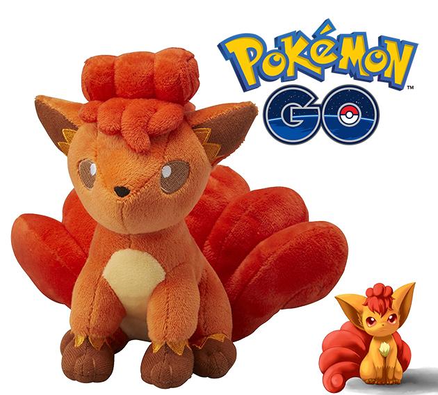 六尾絨毛玩偶Pokemon寶可夢神奇寶貝S號娃娃日本正品該該貝比日本精品