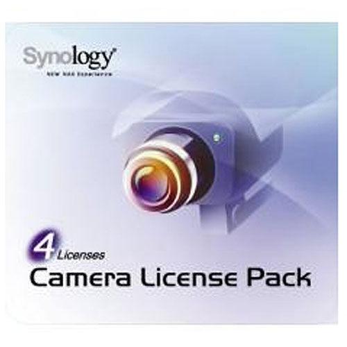 SYNOLOGY 群暉 4支網路攝影機授權包