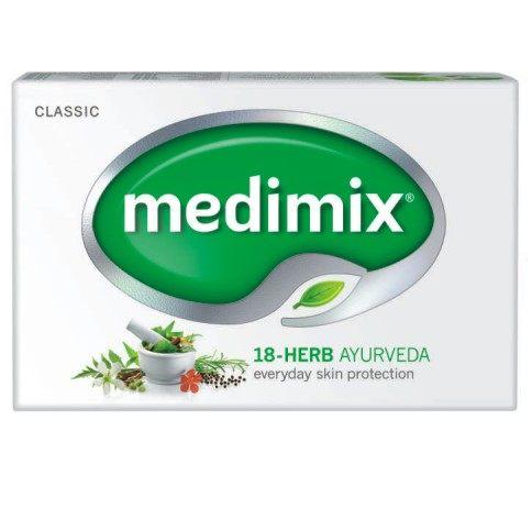 新包裝特價中↘MEDIMIX 美的秘密美膚皂-18種藥草(傳統配方) 125g ~ 1次買6塊送1塊