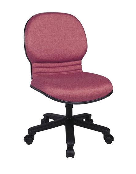 HM-S03 B    辦公椅 / 電腦椅 / 洽談椅-壓克力布 /  透氣皮