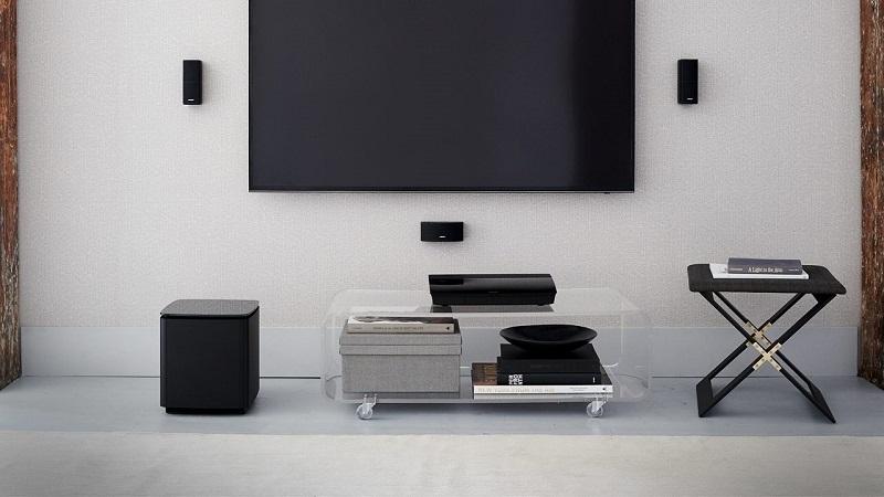 名展音響BOSE 5.1聲道音響系統LS-600內置Wi-Fi藍牙支援4K貿易商貨含喇叭架