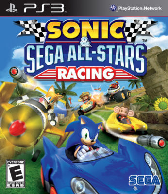PS3 音速小子 & SEGA 超級巨星大賽車 -英文版- Sonic & Sega All-Stars Racing