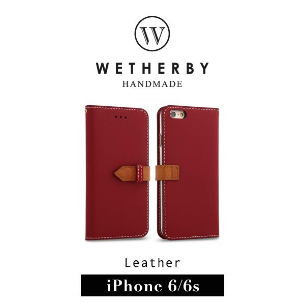 G2 STORE WETHERBY SNAP iPhone 6 4.7吋手工製作真皮保護套皮套紅色