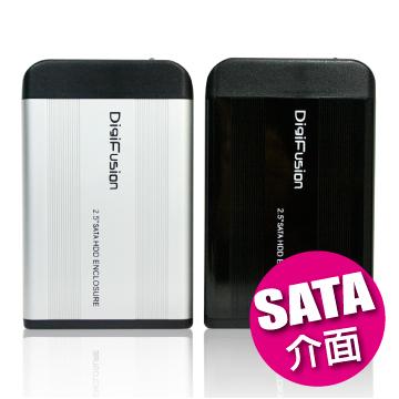 伽利略SATA USB2.0 2.5吋硬碟外接盒-黑HD-256U2S