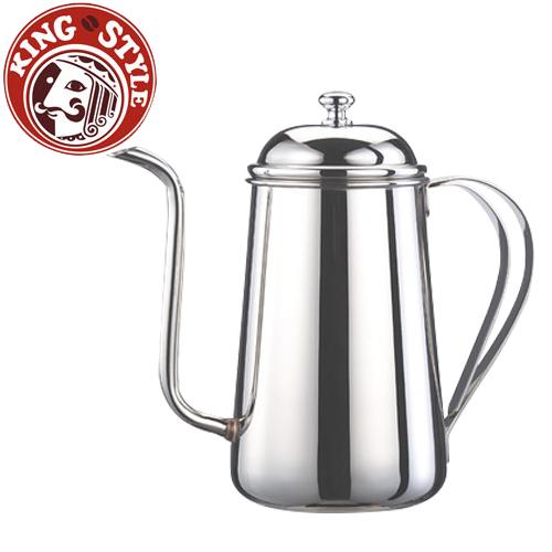 金時代書香咖啡 Tiamo 鏡面不銹鋼細口壺 口徑8mm 1.2L 通過SGS