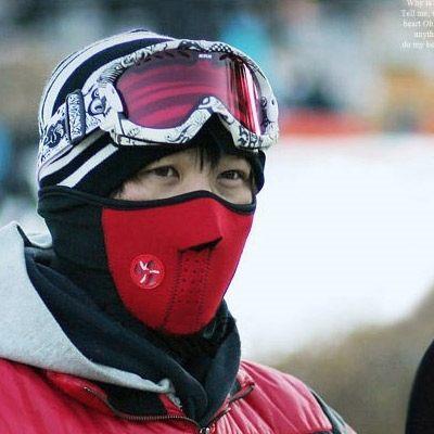 護臉面罩 頭套冬季防風寒保暖摩托車頭盔 防塵口罩 安全帽面罩 騎車面罩(三色任選)【AE10092】