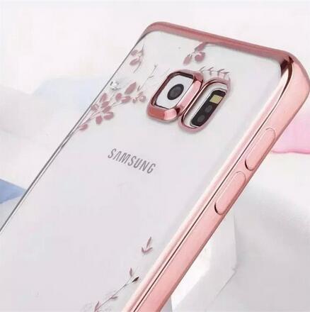 SZ34 j7 prime手機殼秘密花園水鑽電鍍tpu三星j7 prime手機殼j5 prime手機殼