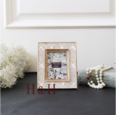 熊孩子❃歐式美式複古手工雕花相框3寸(主圖款-3寸相框)