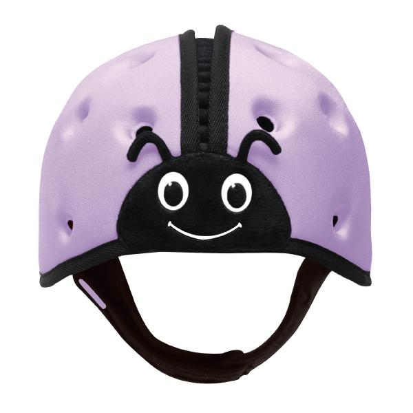 英國SafeheadBABY幼兒學步防撞安全帽防撞帽護頭帽羅藍紫~麗兒采家
