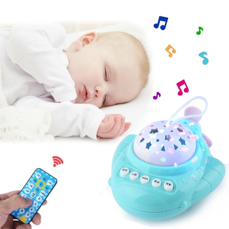 安撫睡眠兒童寶寶早教機投影學習故事機嬰兒音樂玩具0-3歲花田櫥窗TW