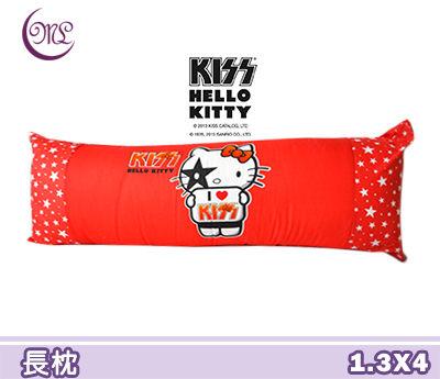 Jenny Silk名床我愛Hello Kitty抱枕長枕可墊腳或當枕頭全程臺灣製造