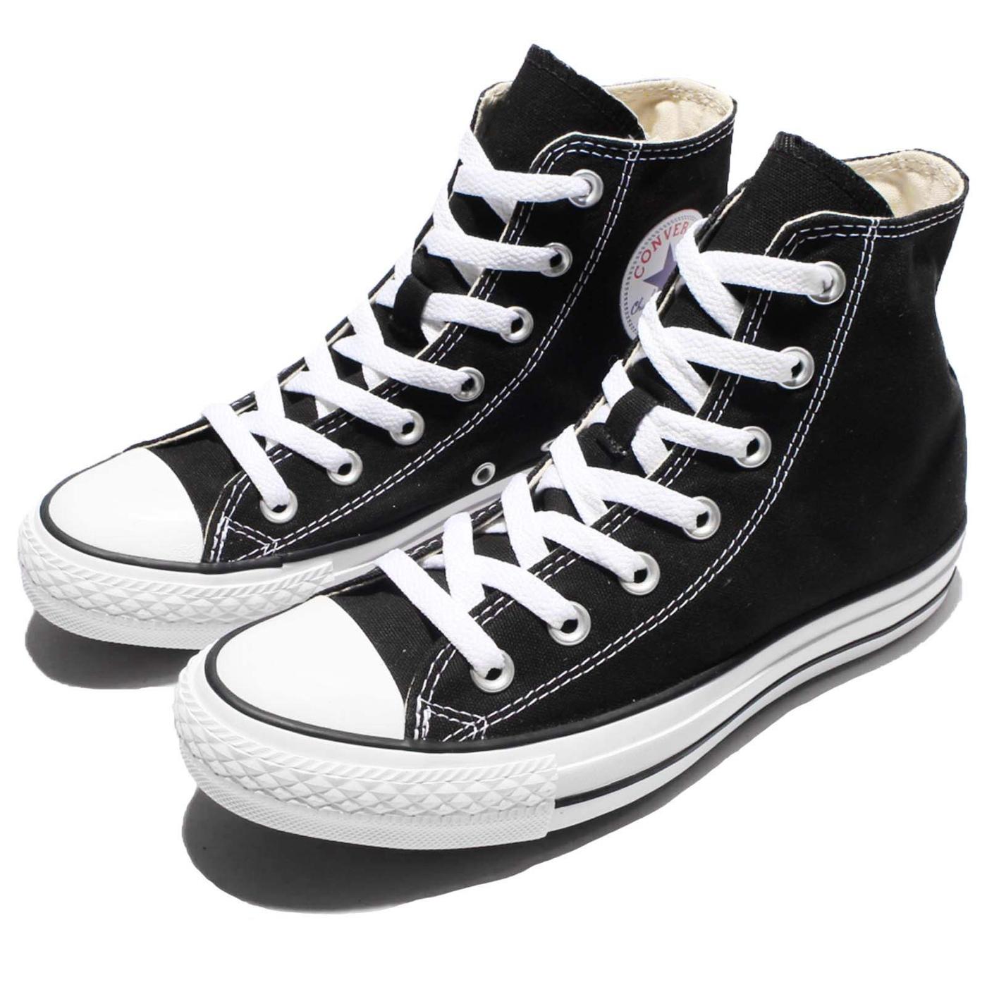 Converse Chuck Taylor All Star黑白基本款帆布鞋高筒基本款男鞋女鞋PUMP306