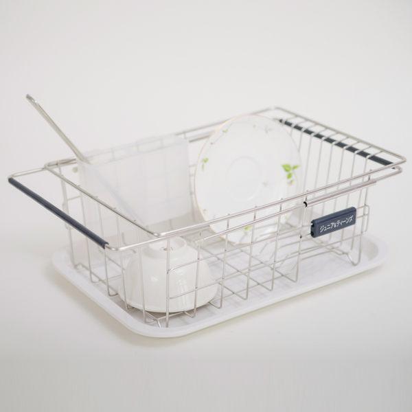 廚房收納瀝水架碗盤架D0083伸縮水槽架附美奈瀝水盤MIT台灣製收納專科