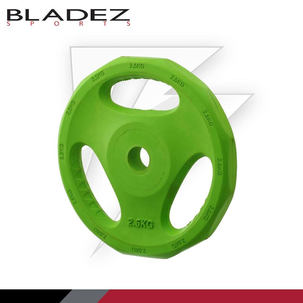 【BLADEZ】彩色包膠槓片 2.5KG(一入)